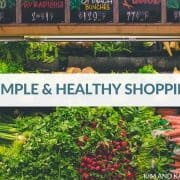 Healthy Shopping List Healthy Eating Grocery Tips