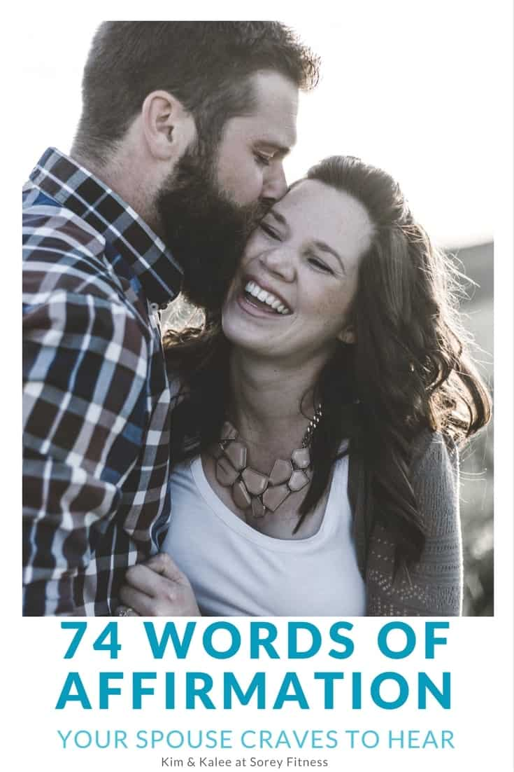 Of affirmation words Words of