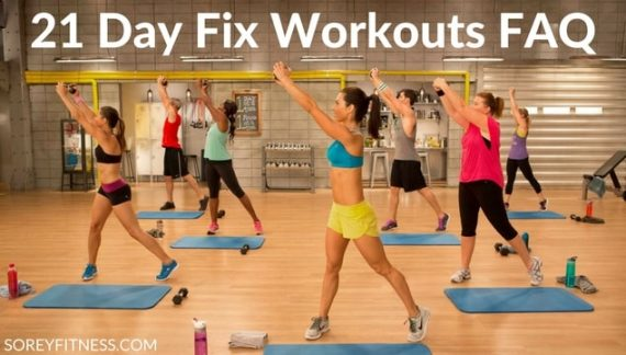 21 Day Fix Workouts & Schedule | Working Out at Home