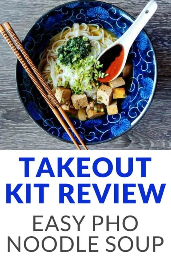 Takeout Kit provides unique meal delivery services with global-inspired recipe kits! We recently were given their Vietnamese Tofu Pho Noodle Soup kit in exchange for our honest review. They also have empanadas, chorizo, flatbreads and similar recipes available!