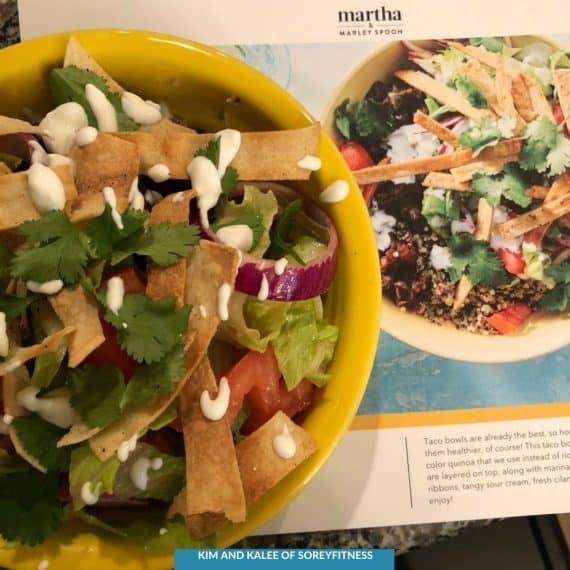 Martha & Marley Spoon Taco Recipe