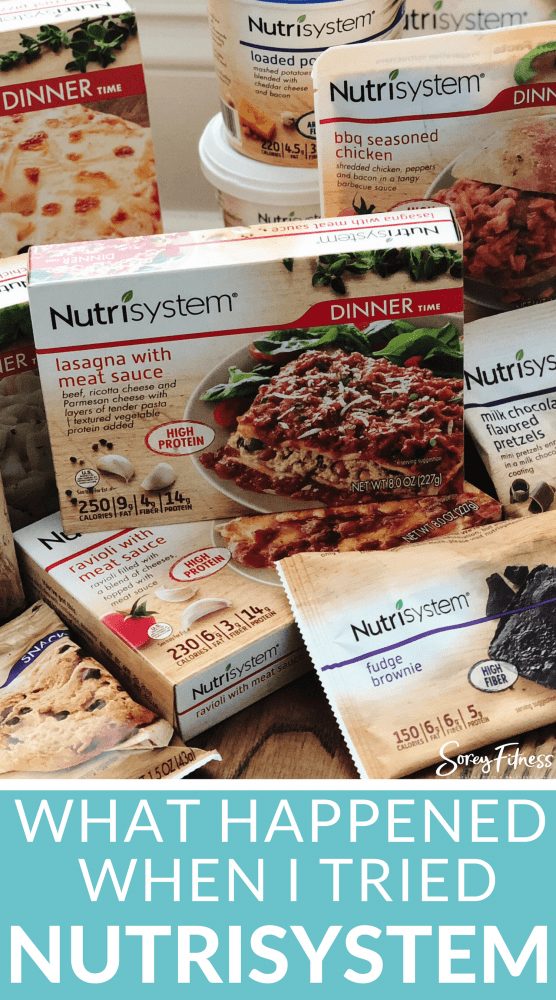 Turbo 13 - What I Ate on Nutrisystem's Turbo Takeoff Week + Results - Lean 13-min