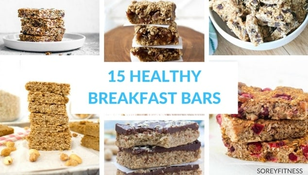 Healthy Breakfast Bars – The Best Recipes and Store-Bought Bars