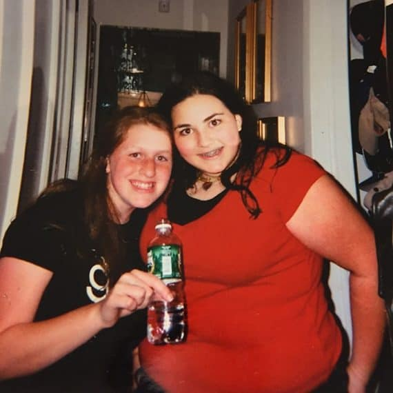 Ilana Muhlstein Before Pic at 215 pounds