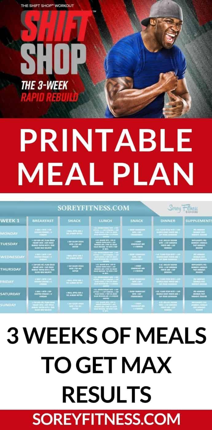 Shift Shop Meal Plan Pinterest Image