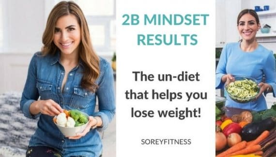 2B Mindset Test Group Results  – Before and After Pictures