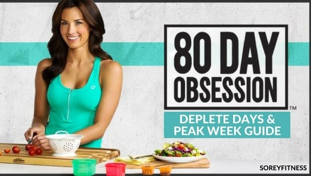 80 Day Obsession Deplete Days Peak Week