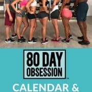 80 day obsession calendar Schedule and workout list-min