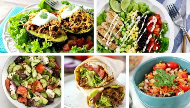 70+ Healthy Lunch Ideas For Weight Loss at School or Work