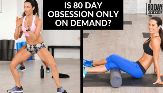 Is 80 Day Obsession Only On Beachbody on Demand?