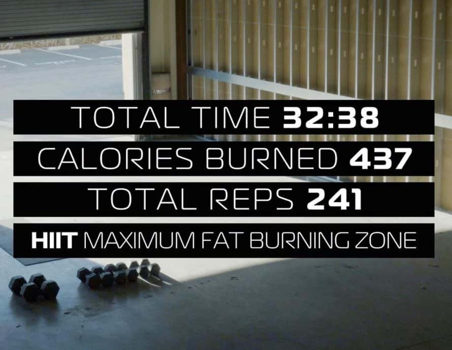 LIIFT4 Review Workout with Reps and Calorie Burn
