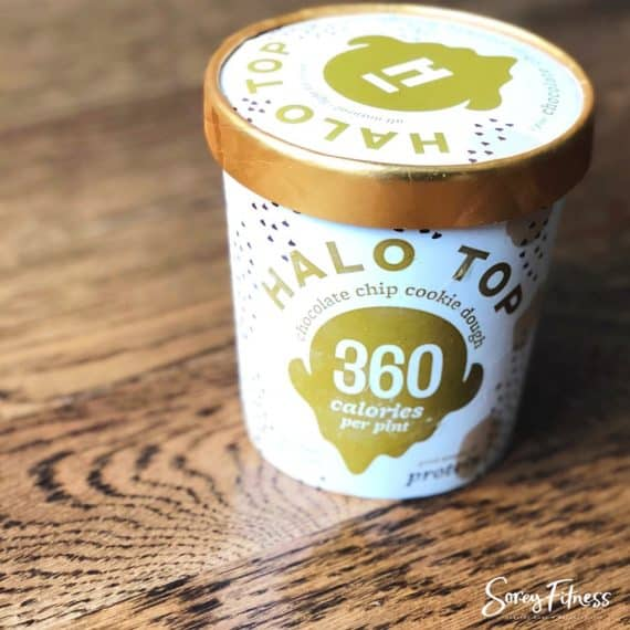 Halo Top Ice Cream Flavors Chocolate Chip Cookie Dough