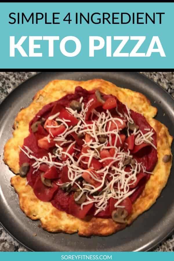 Healthy Keto Pizza Crust Recipe
