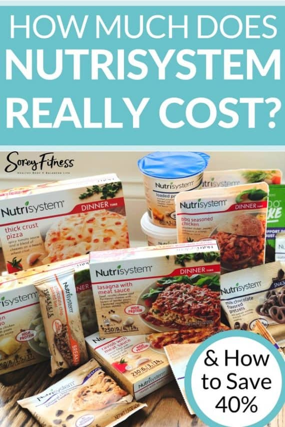 Nutrisystem Cost and how to save 40% off any Nutrisystem plan
