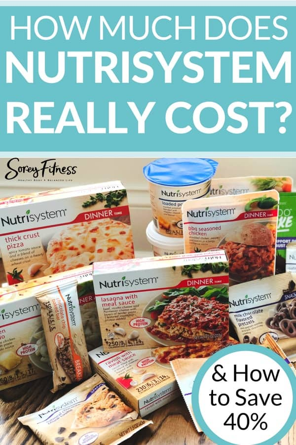 How Much Does Nutrisystem Cost in 2021? (Get 50% Off)