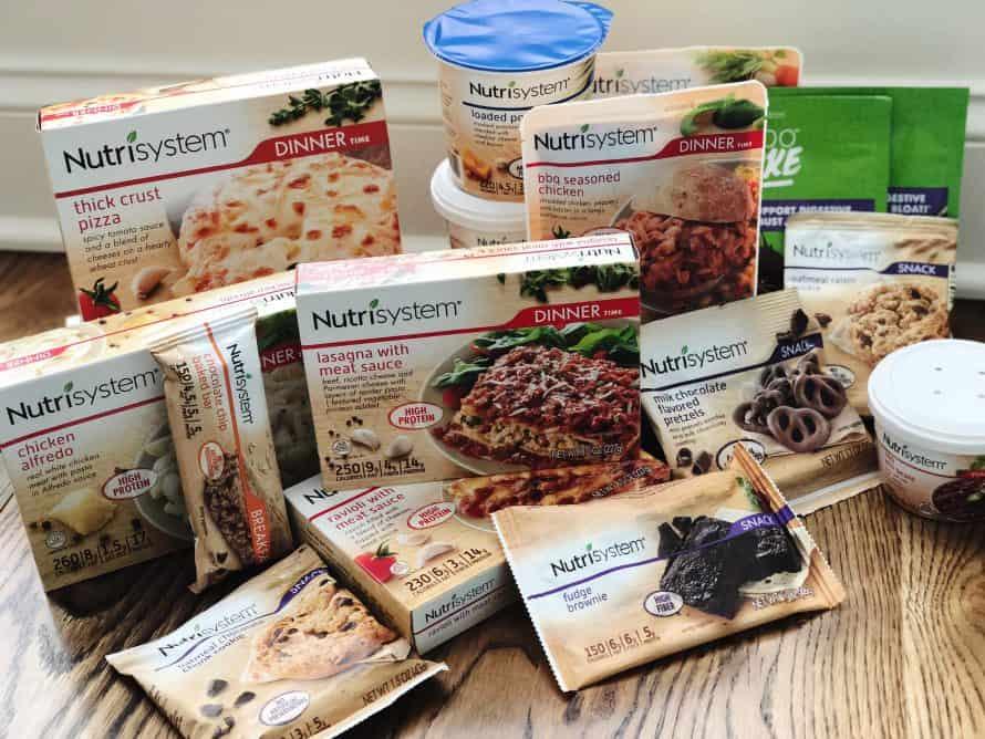 Nutrisystem Menu and Food