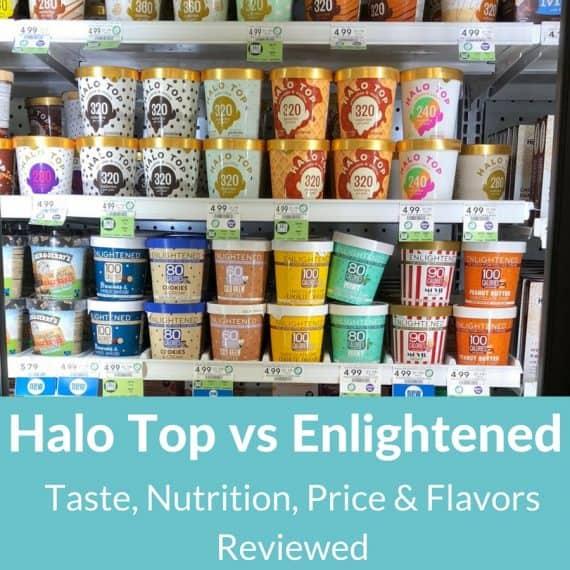 enlightened ice cream vs halo top