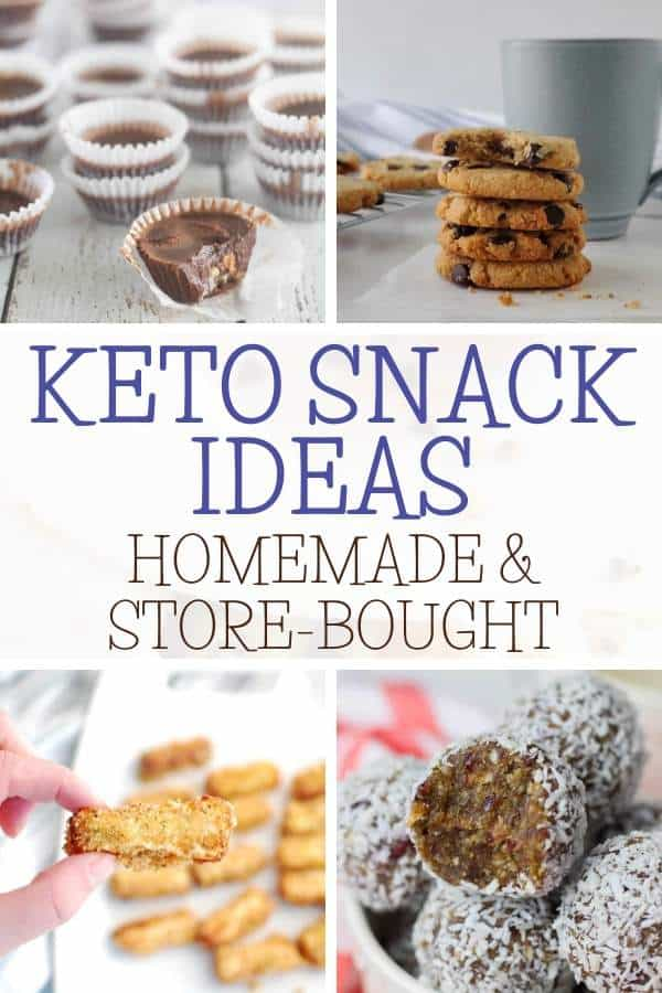 40+ Best Keto Snacks collage