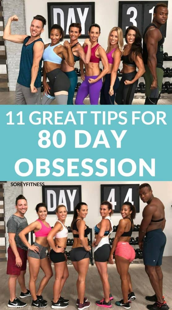 11 Tips for 80 Day Obsession – How to Have Fun & Get Max Results