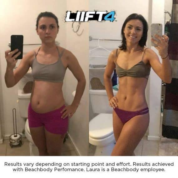 LIFT4 before and after