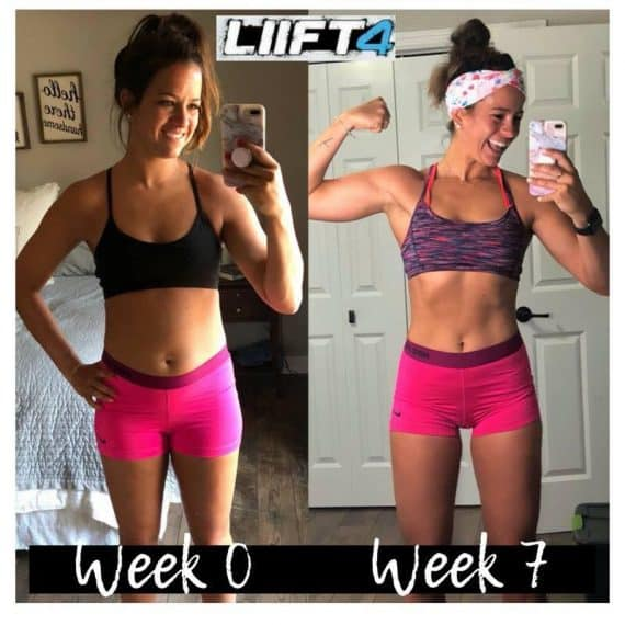 LIiFT4 before and after