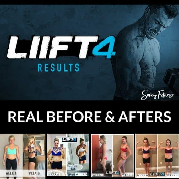 LIIFT 4 Results: Before and After Photos of Joel Freeman's New Workouts