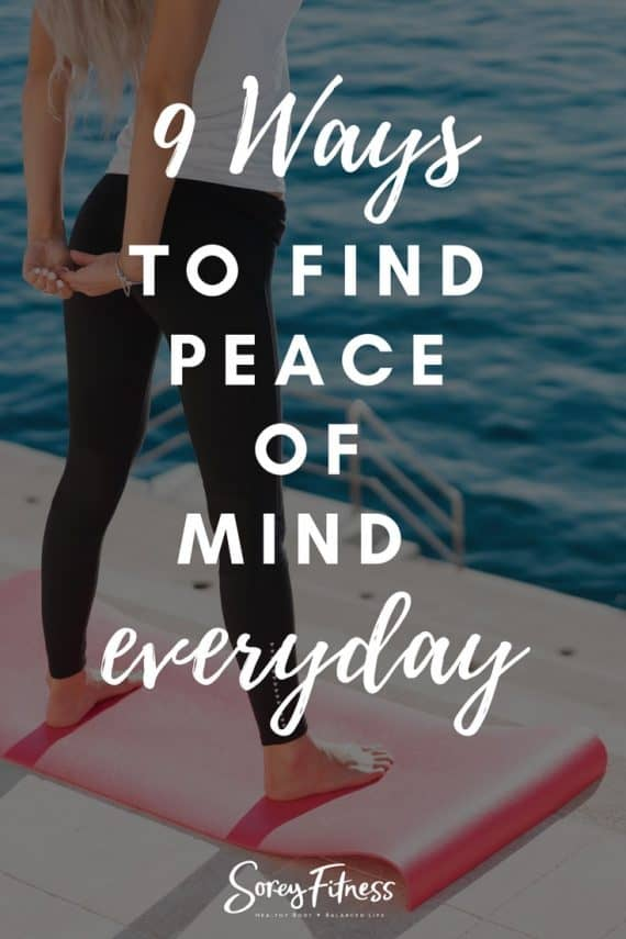 peace of mind in your daily life