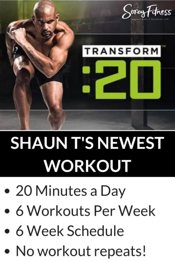 Shaun T's Newest Workout: Transform 20 Review