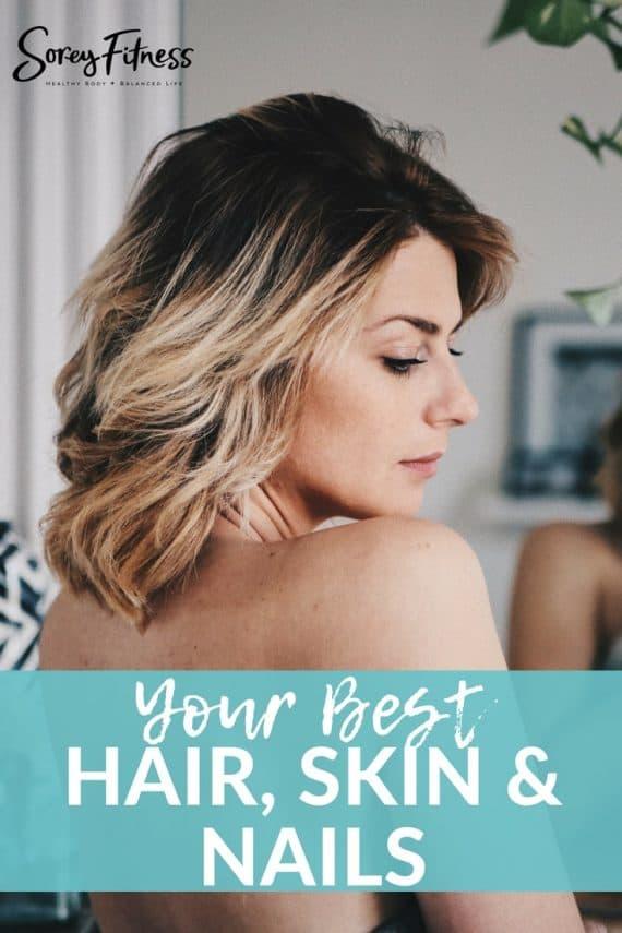 hair skin and nails vitamins