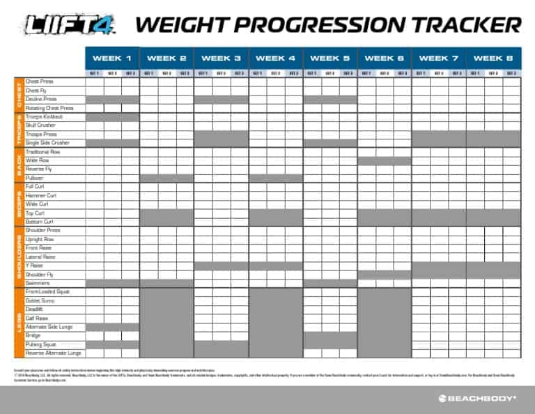 liift4 weight tracker