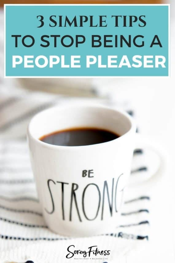We are not people pleasers anymore. Get our top 3 vital behaviors that allowed us to give up people pleasing.