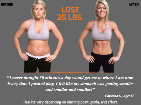 Get P90X3 Workout Schedule Results