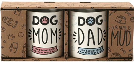 Dog Mom and Dog Dad Mugs