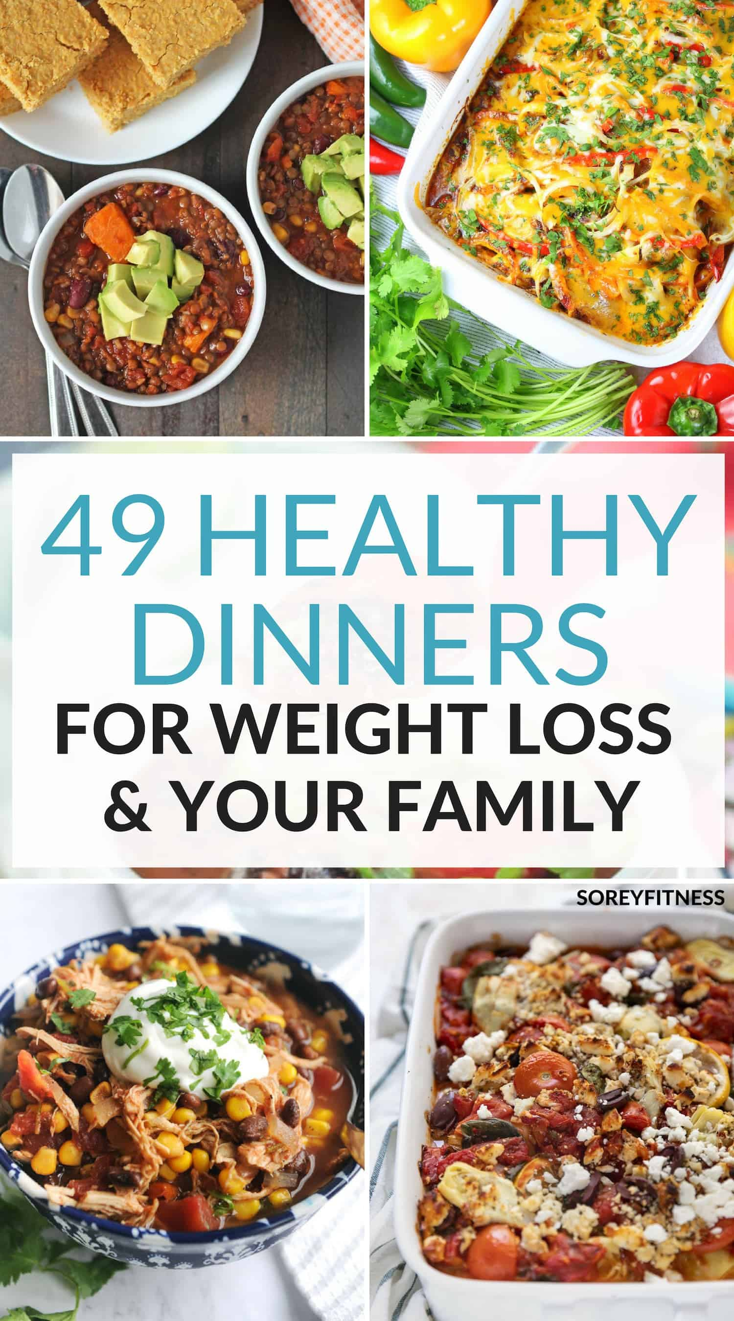 Healthy Dinner Ideas for Weight Loss and Your Family