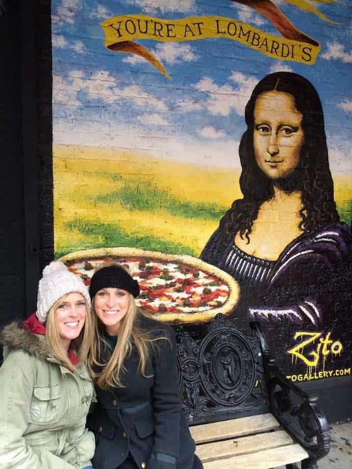 Us at Lombardis NYC