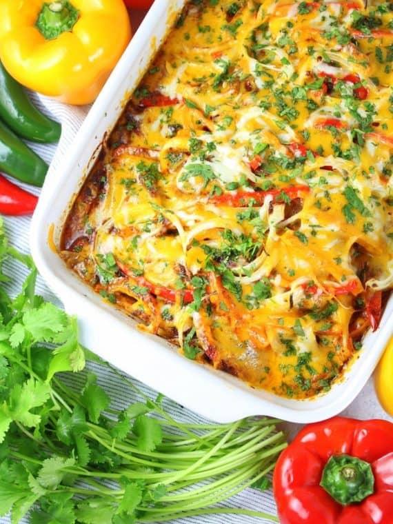 Mexican Chicken Casserole Healthy Dinner Ideas