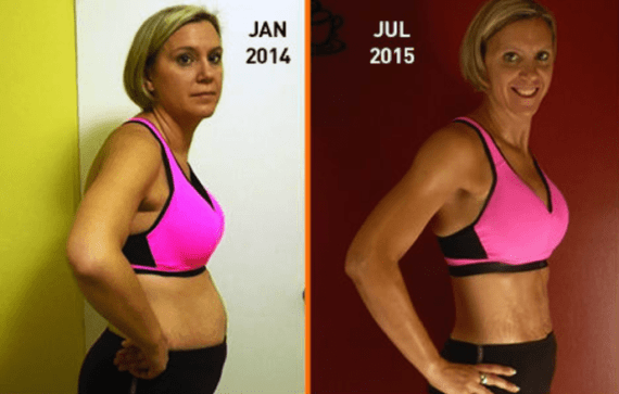 P90X3 Before and After Female