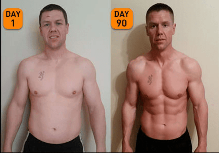 P90X3 Results Man
