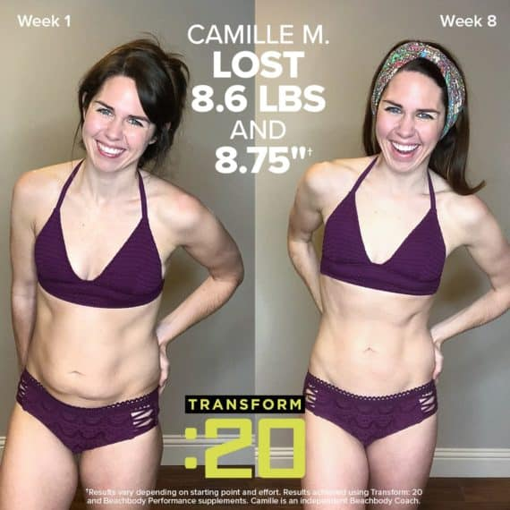 Transform 20 Results Women before and after
