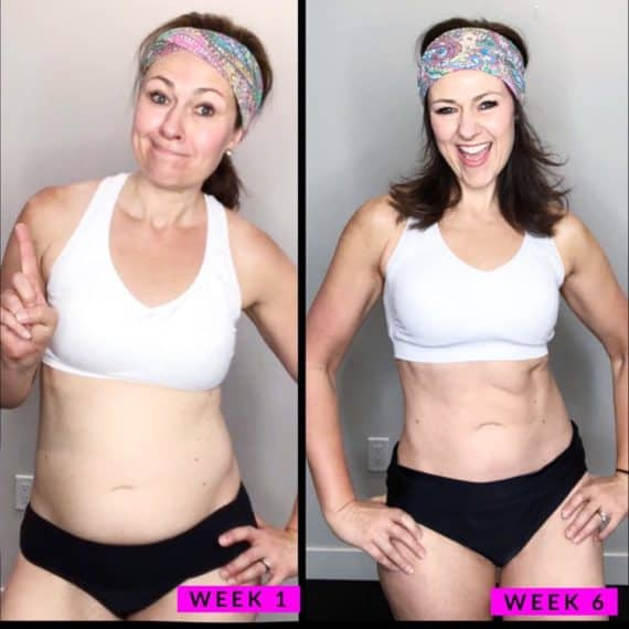 Transform 20 before and after woman-