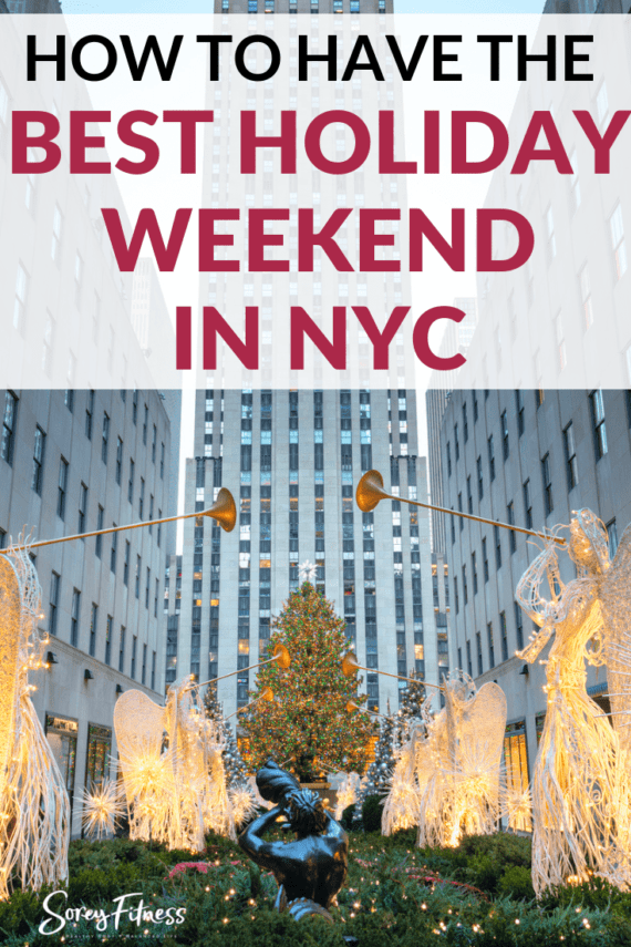 how to spend a holiday-weekend in new york city