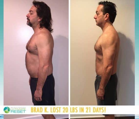 ultimate reset mens results