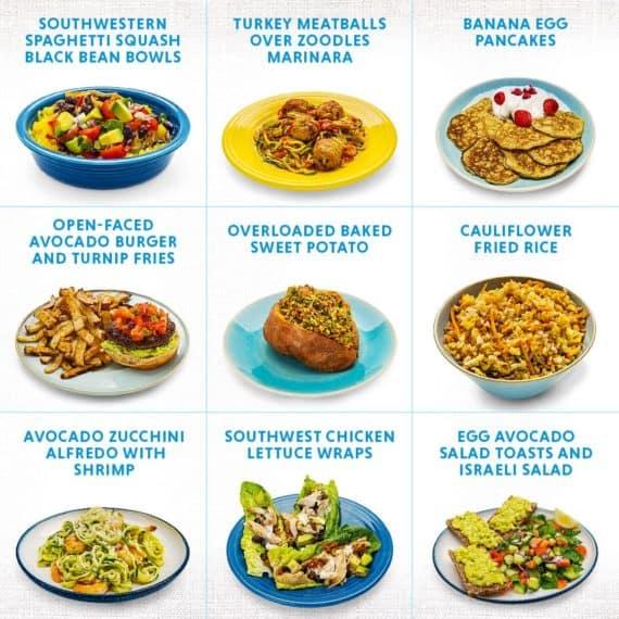 2b mindset meal plan
