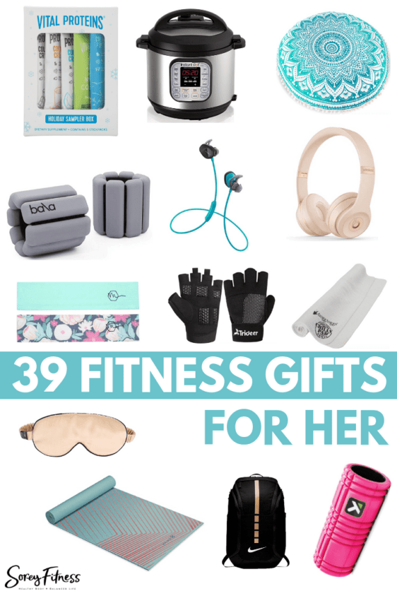 Fitness Gifts for Her - Healthy Gift Ideas