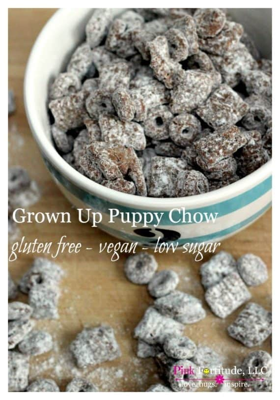 puppy chow with sun butter