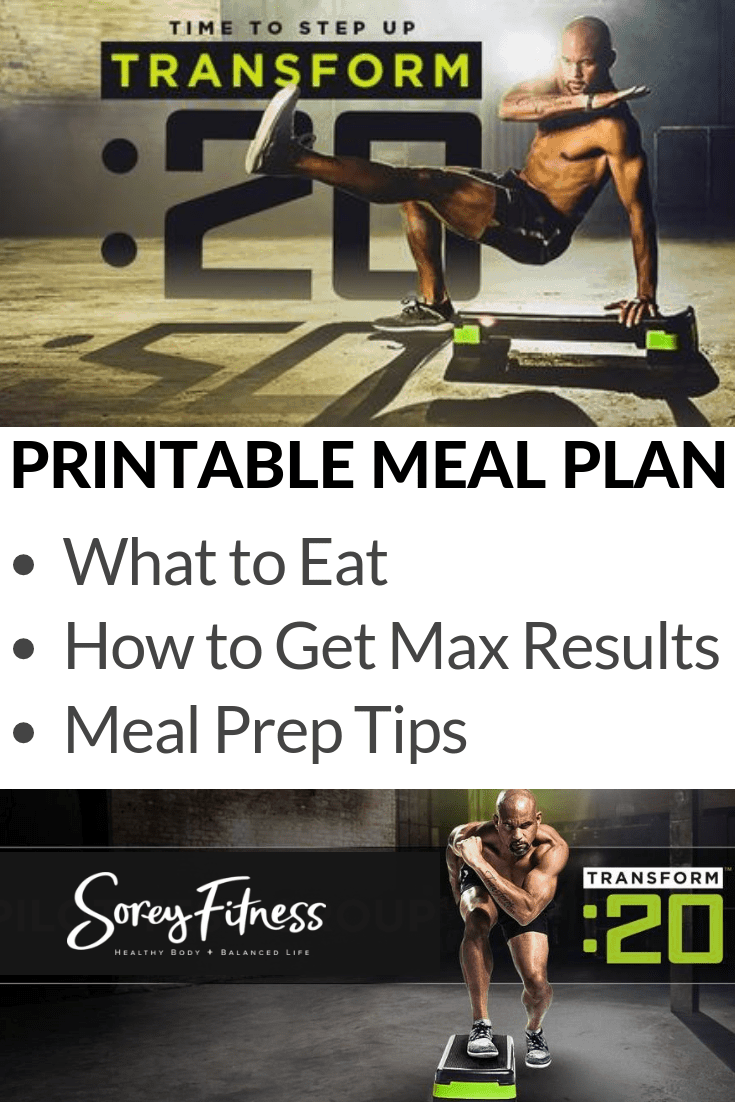 Transform 20 Meal Plan – Free Plan to Use Today & Tips for Max Results!