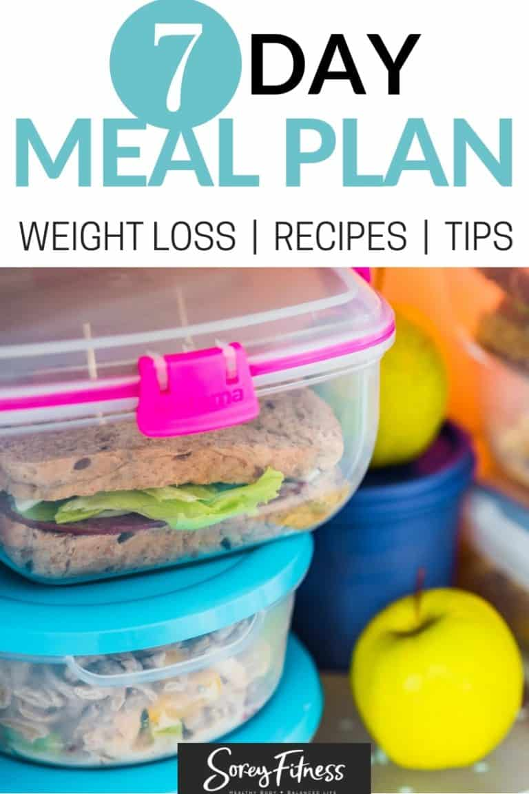 7-Day Weight Loss Meal Plan You Can Use Today!