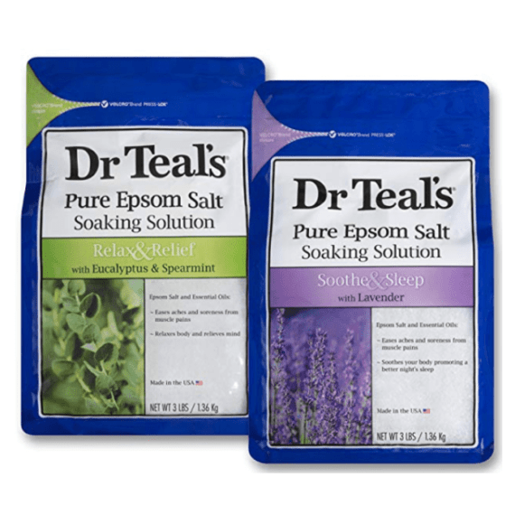 healthy gift ideas Dr. Teal's Pure Epsom Salts