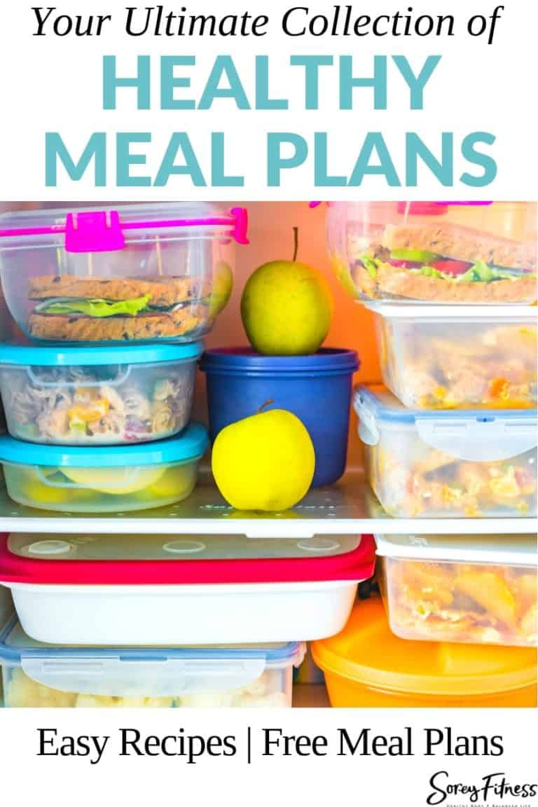 Healthy Meal Plans You Can Use Today & Tips to Lose Weight