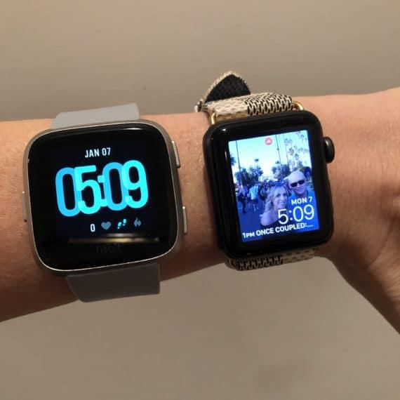 FitBit Versa vs Apple Watch Review3